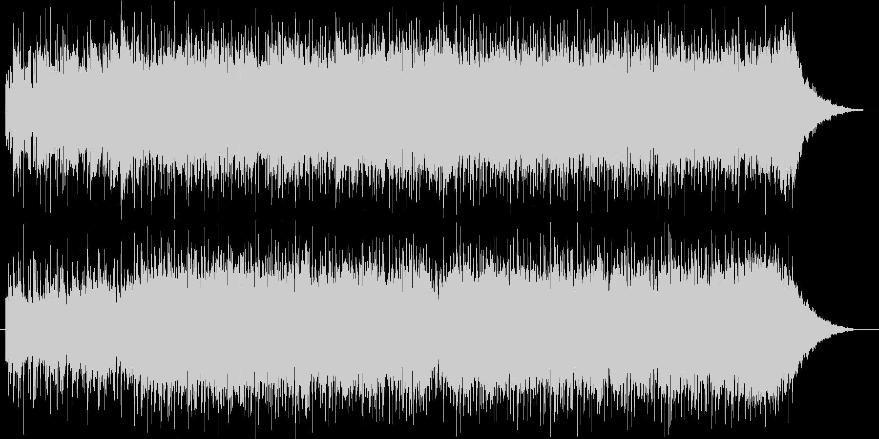 エルガー威風堂々のバンドアレンジの未再生の波形