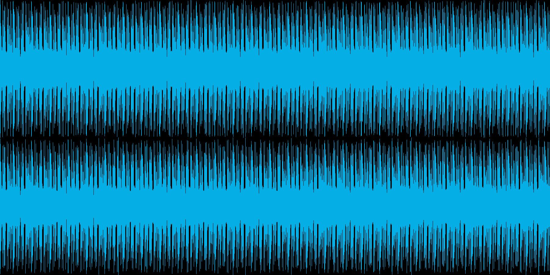 【近未来/サイバーなテクノポップ】の再生済みの波形