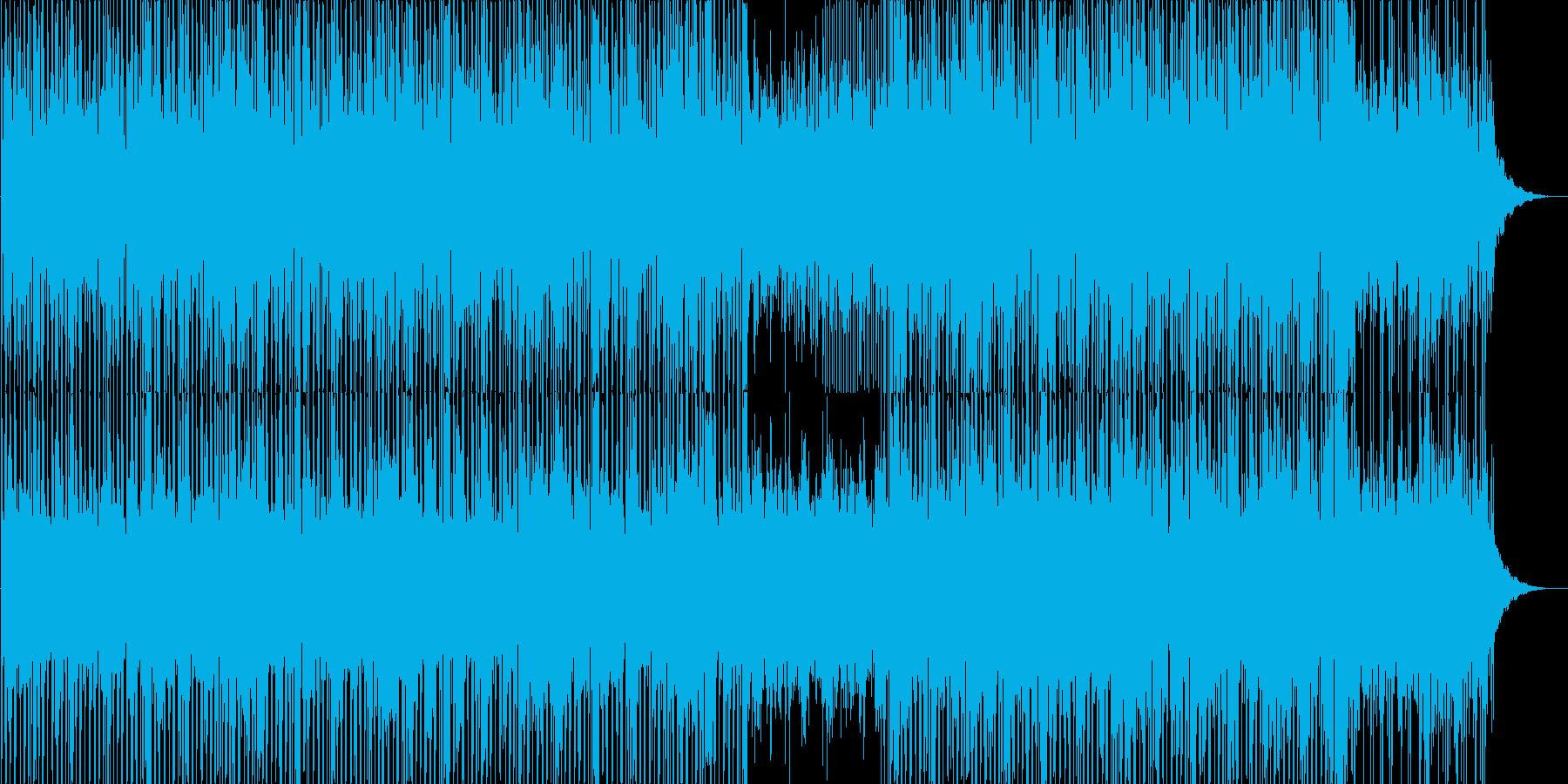 綺麗で神秘的なゆったりしたBGMの再生済みの波形