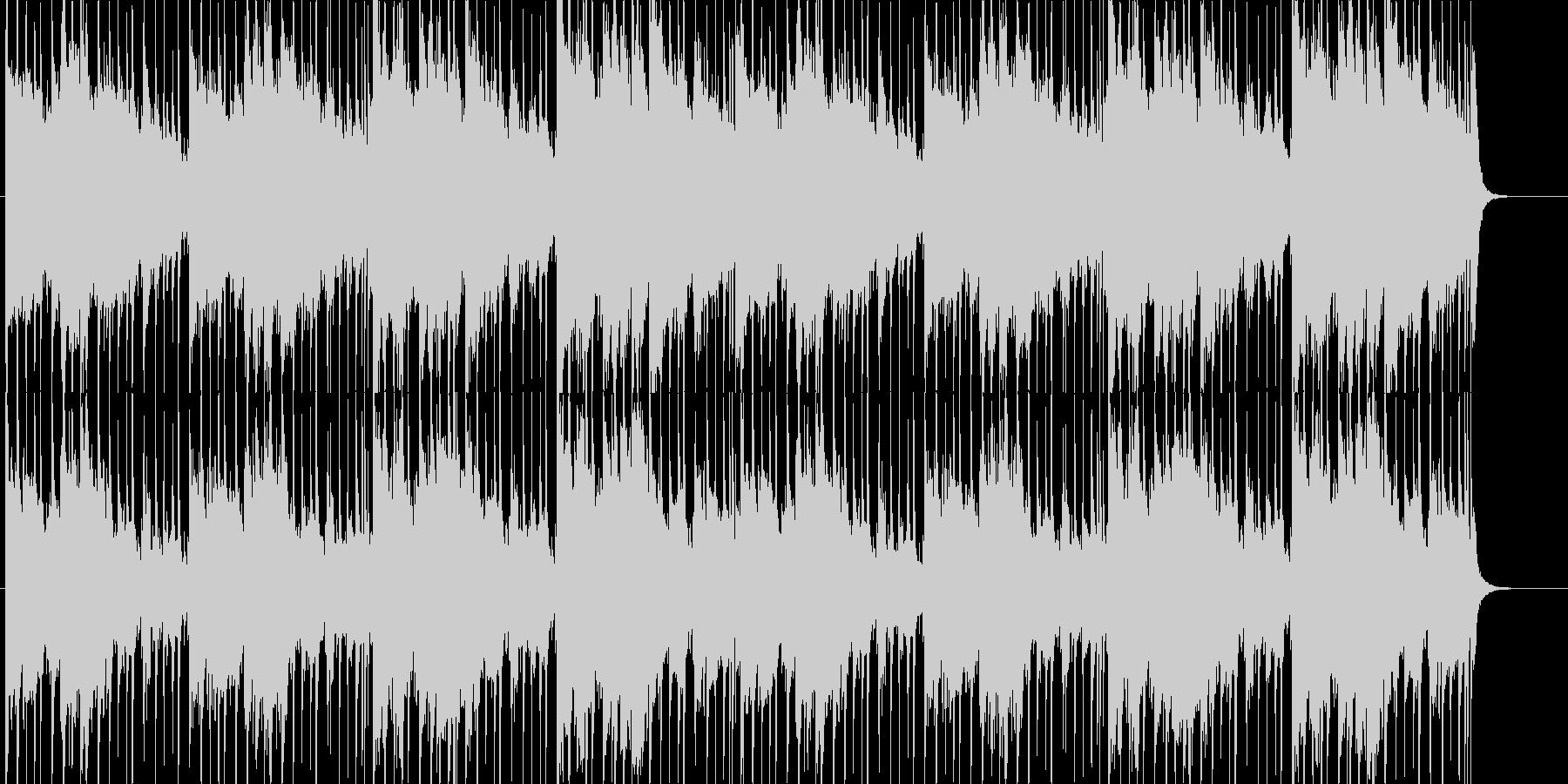 怪しい、疑い、推理、追跡、BGMの未再生の波形
