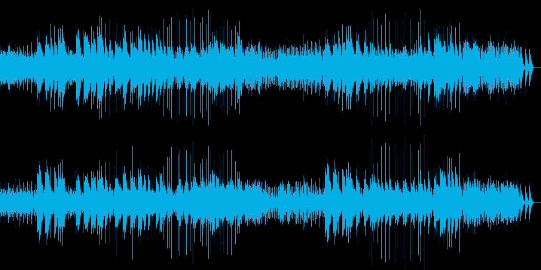 ホラー 短調のクラシック3(オルゴール)の再生済みの波形