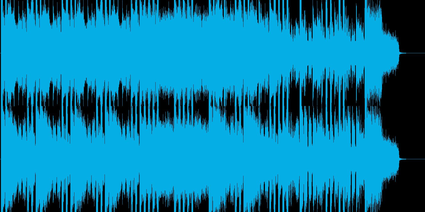 DubStep&ブラス&ギターのハードなの再生済みの波形