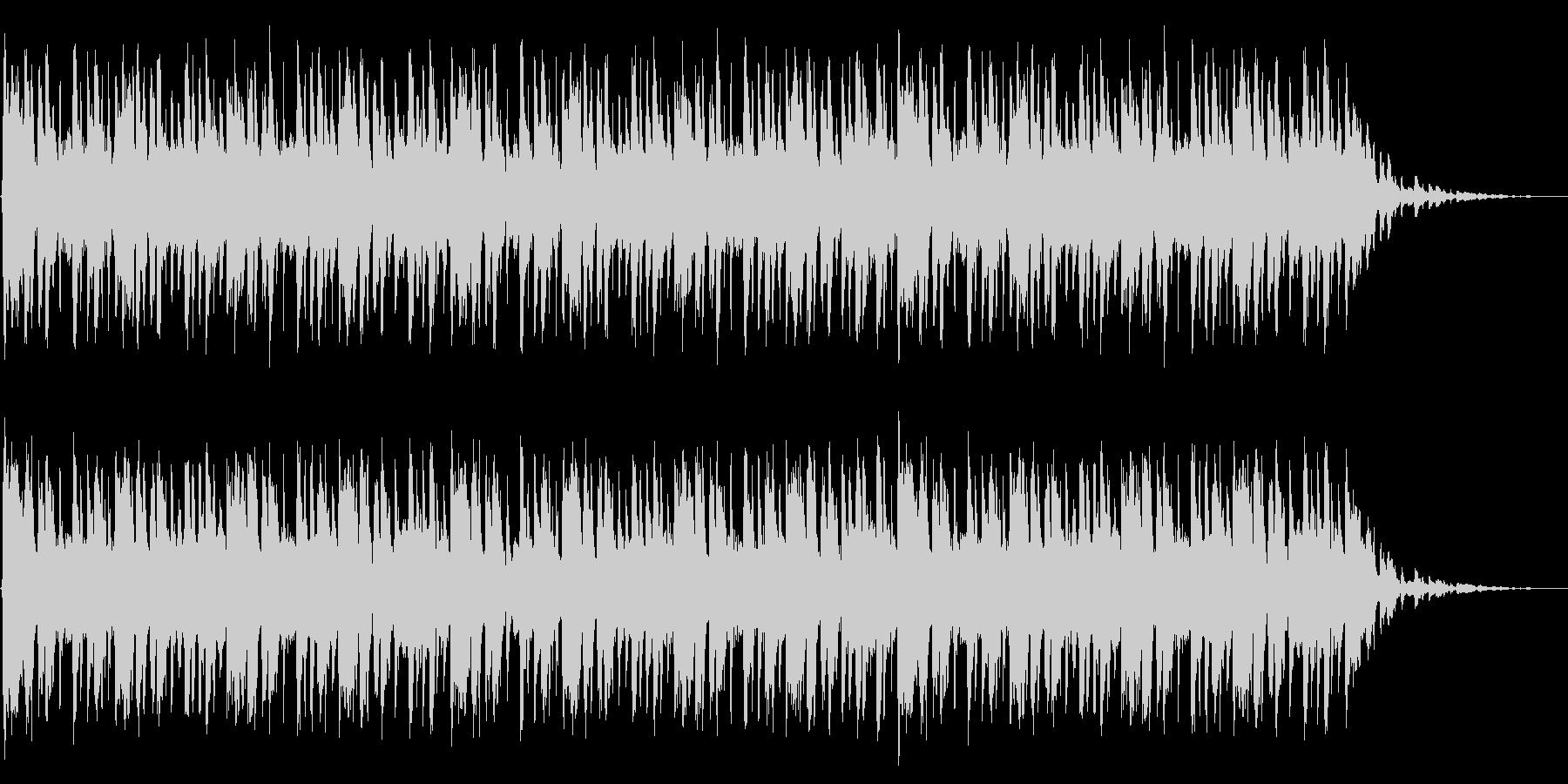 ショートBGM:ファンク-Aの未再生の波形