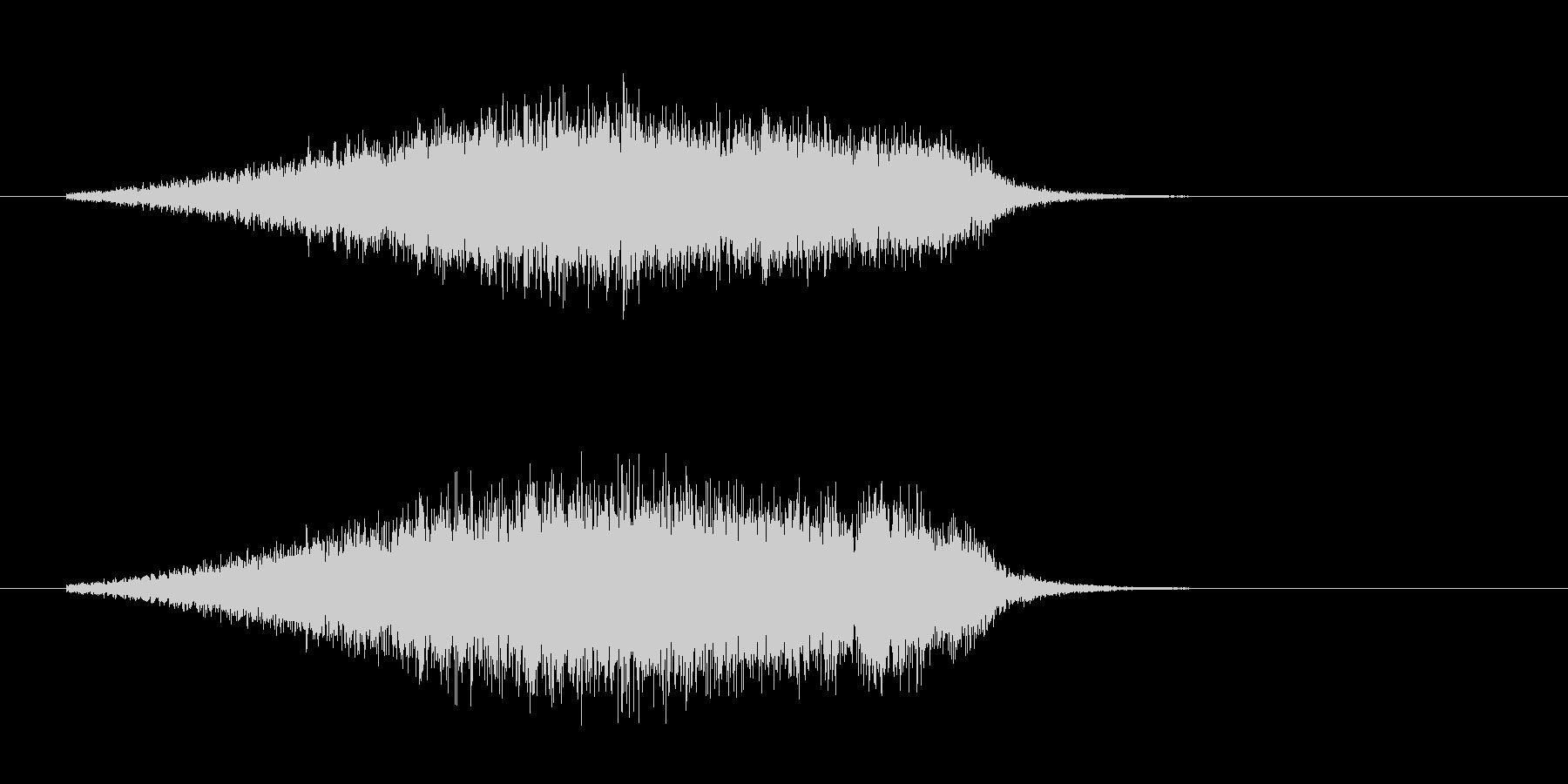 182_ブーイングの未再生の波形