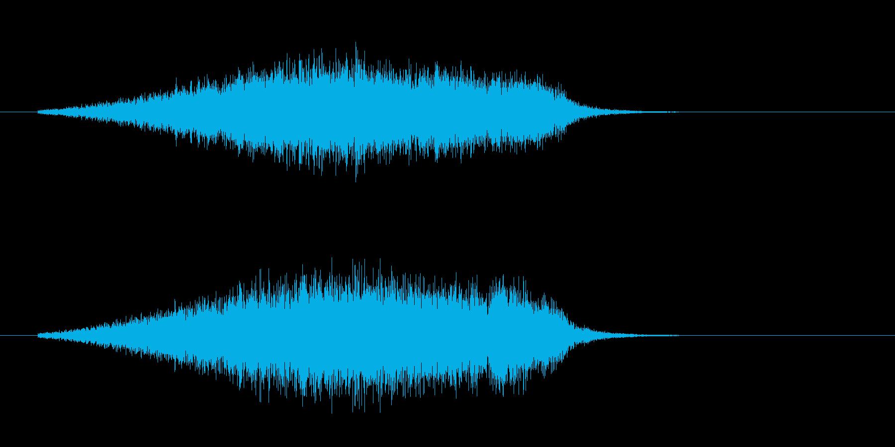 182_ブーイングの再生済みの波形