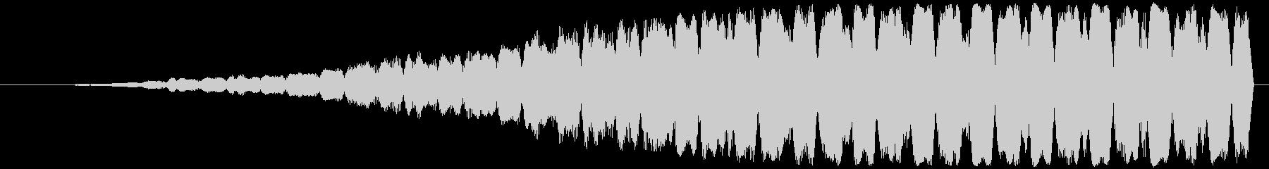 不協和音ハウリング【ホラー】ヒィィィィィの未再生の波形