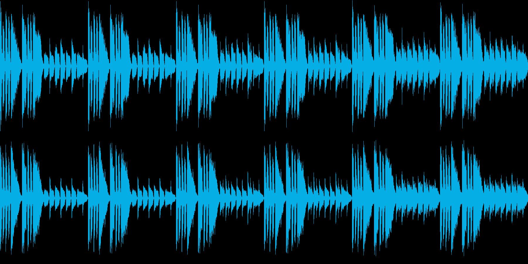 昔を思い出す卒業式な曲(ループ仕様)の再生済みの波形