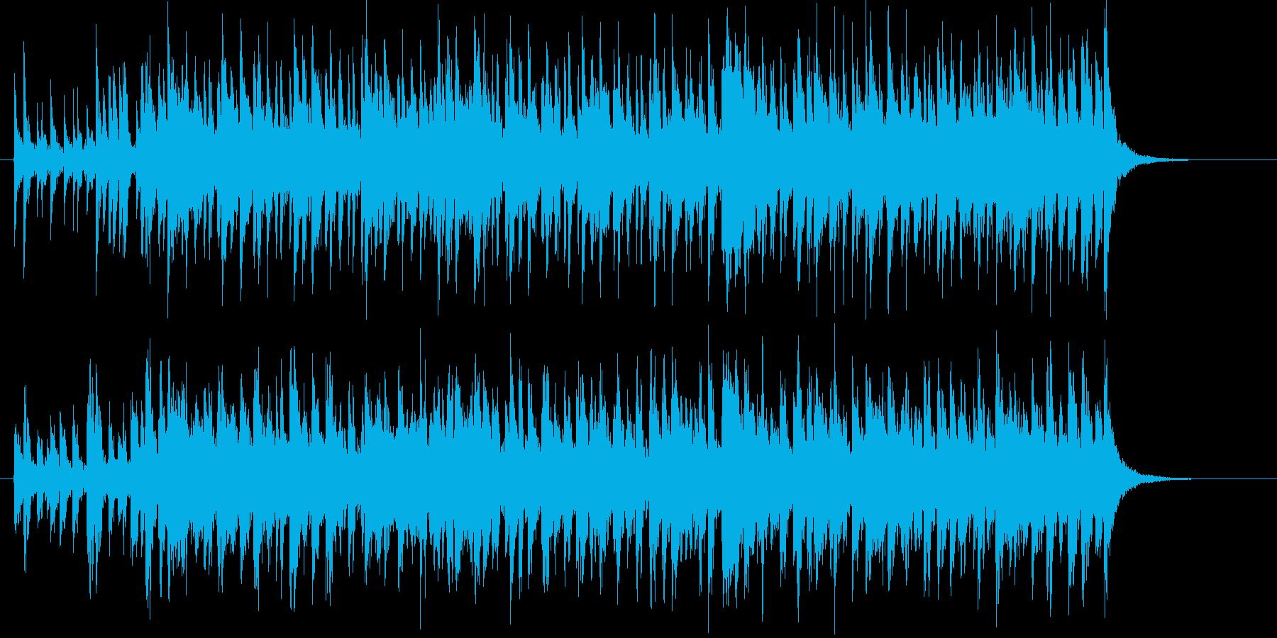 緩やかでリズミカルアコギジングルの再生済みの波形