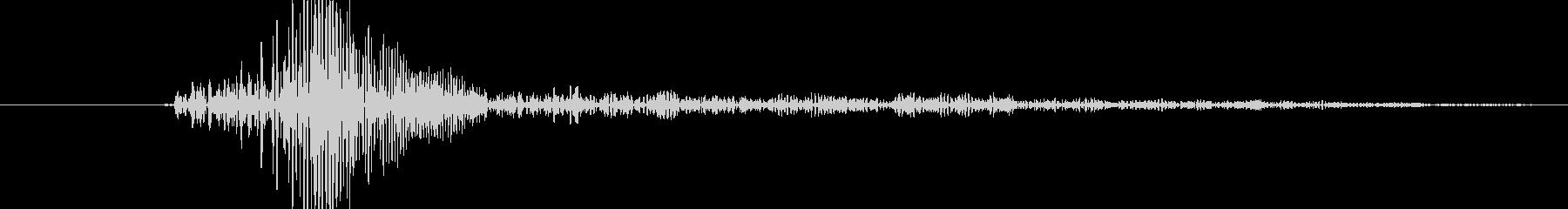 フワッ!というシステム音の未再生の波形