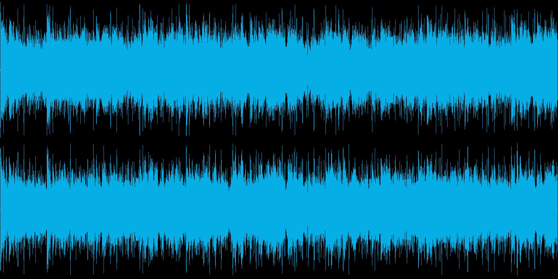 爽やかでおしゃれな雰囲気の映像向けBGMの再生済みの波形