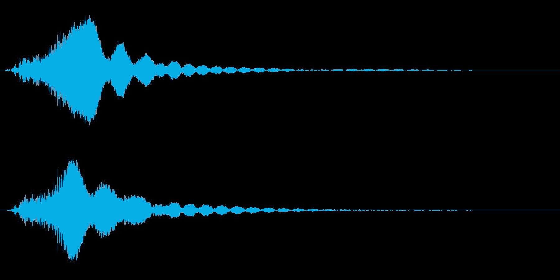 キラキラ☆ピキーン(星の輝き 魔法)10の再生済みの波形