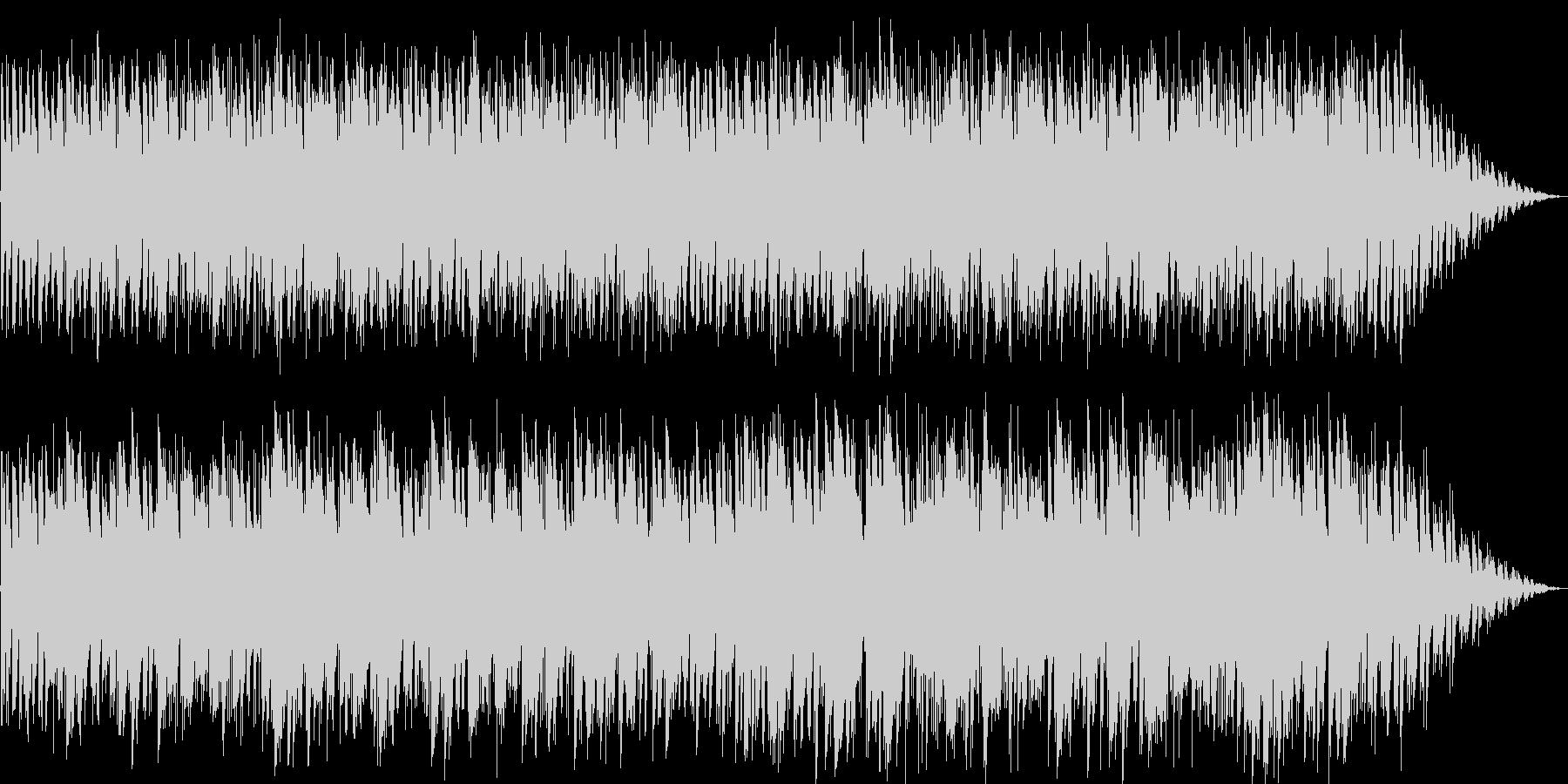 おしゃれなギターのイージーリスニングの未再生の波形