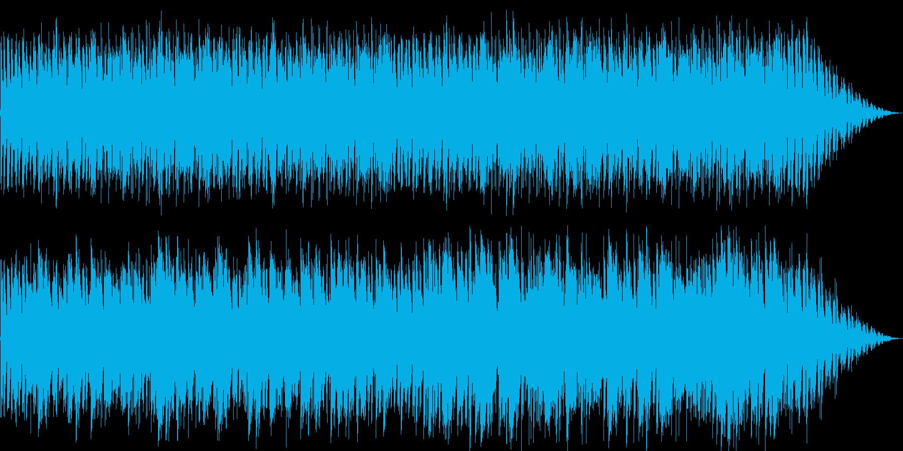おしゃれなギターのイージーリスニングの再生済みの波形