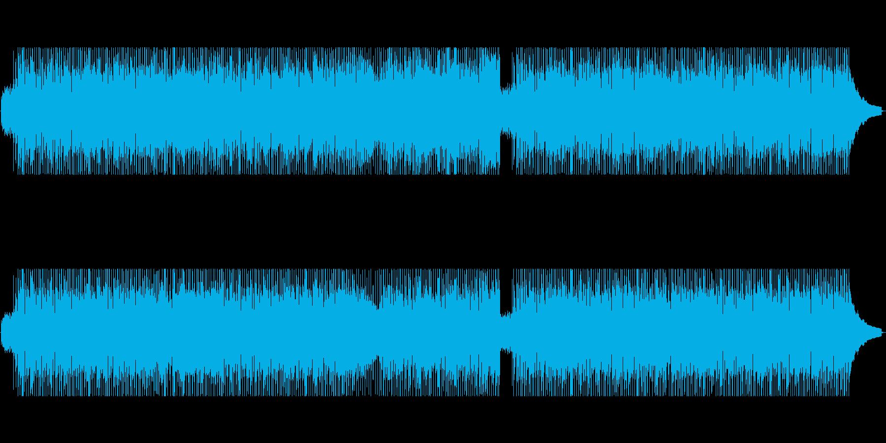 爽やか!躍動感溢れるギターポップロックの再生済みの波形