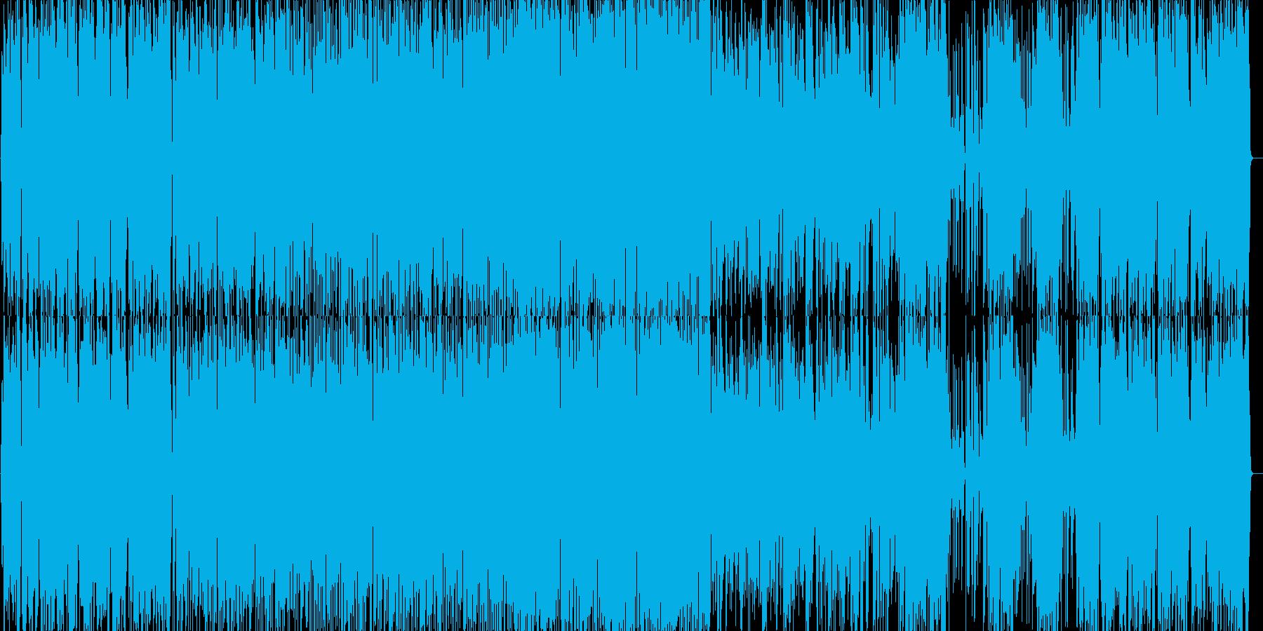 疾走感のあるジャズ ピアノトリオ2の再生済みの波形