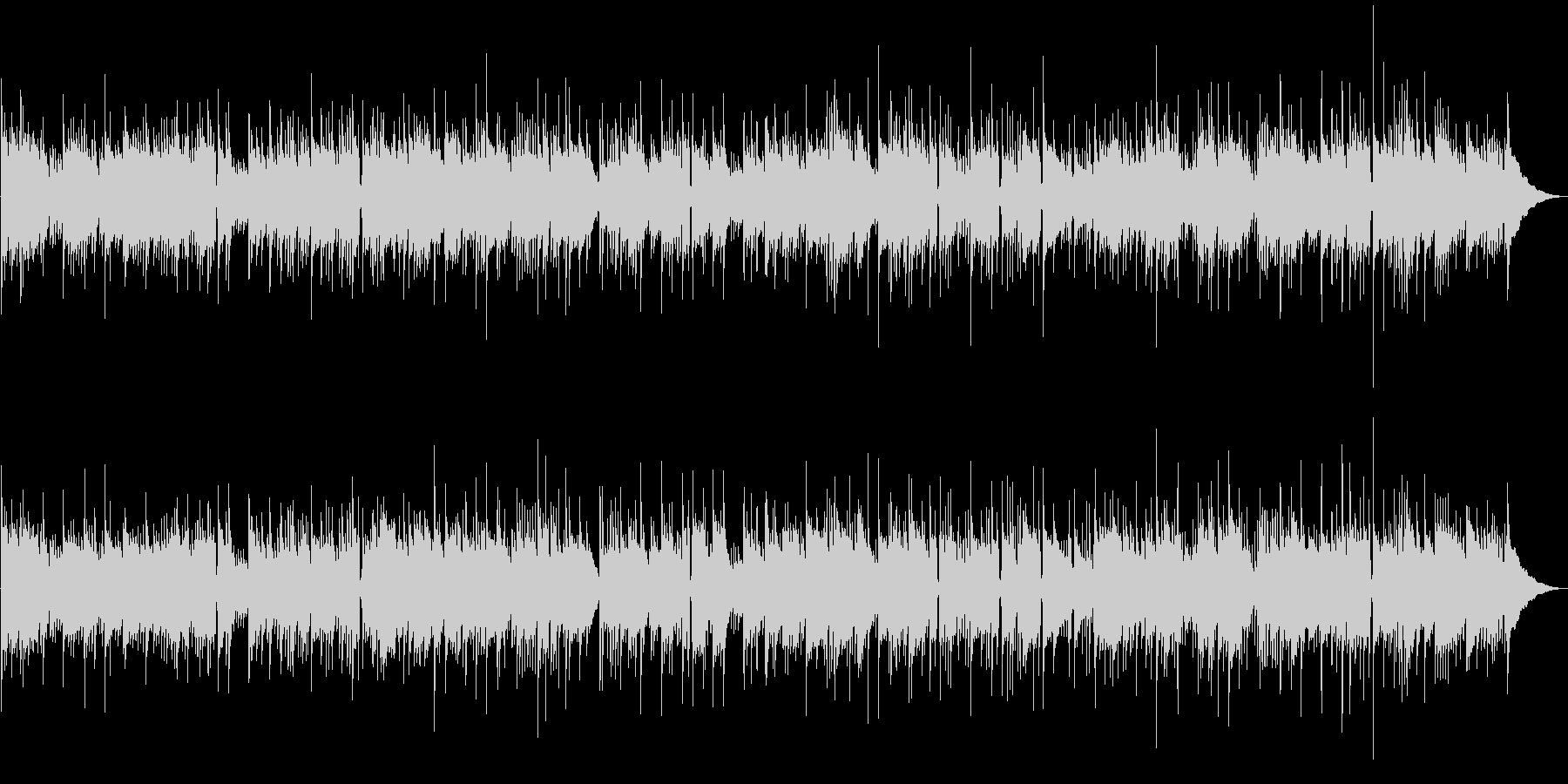 ソロギターの未再生の波形