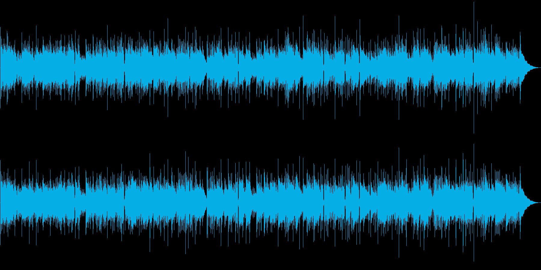ソロギターの再生済みの波形