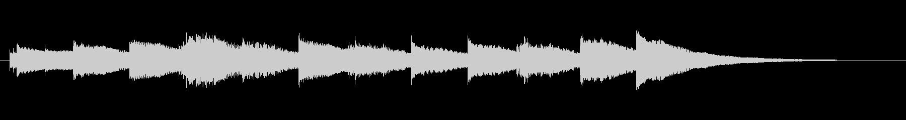 受信音、着信音の未再生の波形