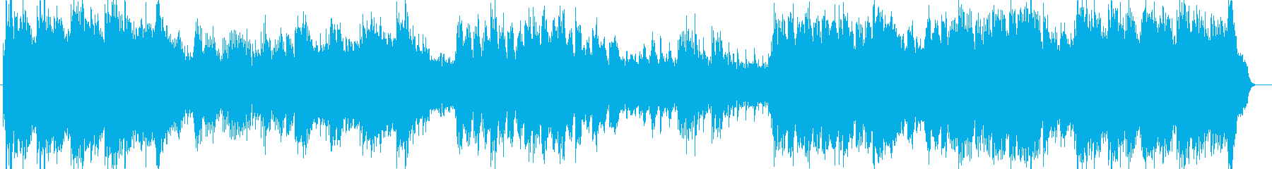ピアノ中心の壮大なバラードの再生済みの波形