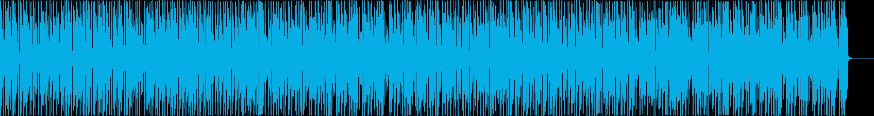 お洒落なボサノバ(メロディ無し)の再生済みの波形