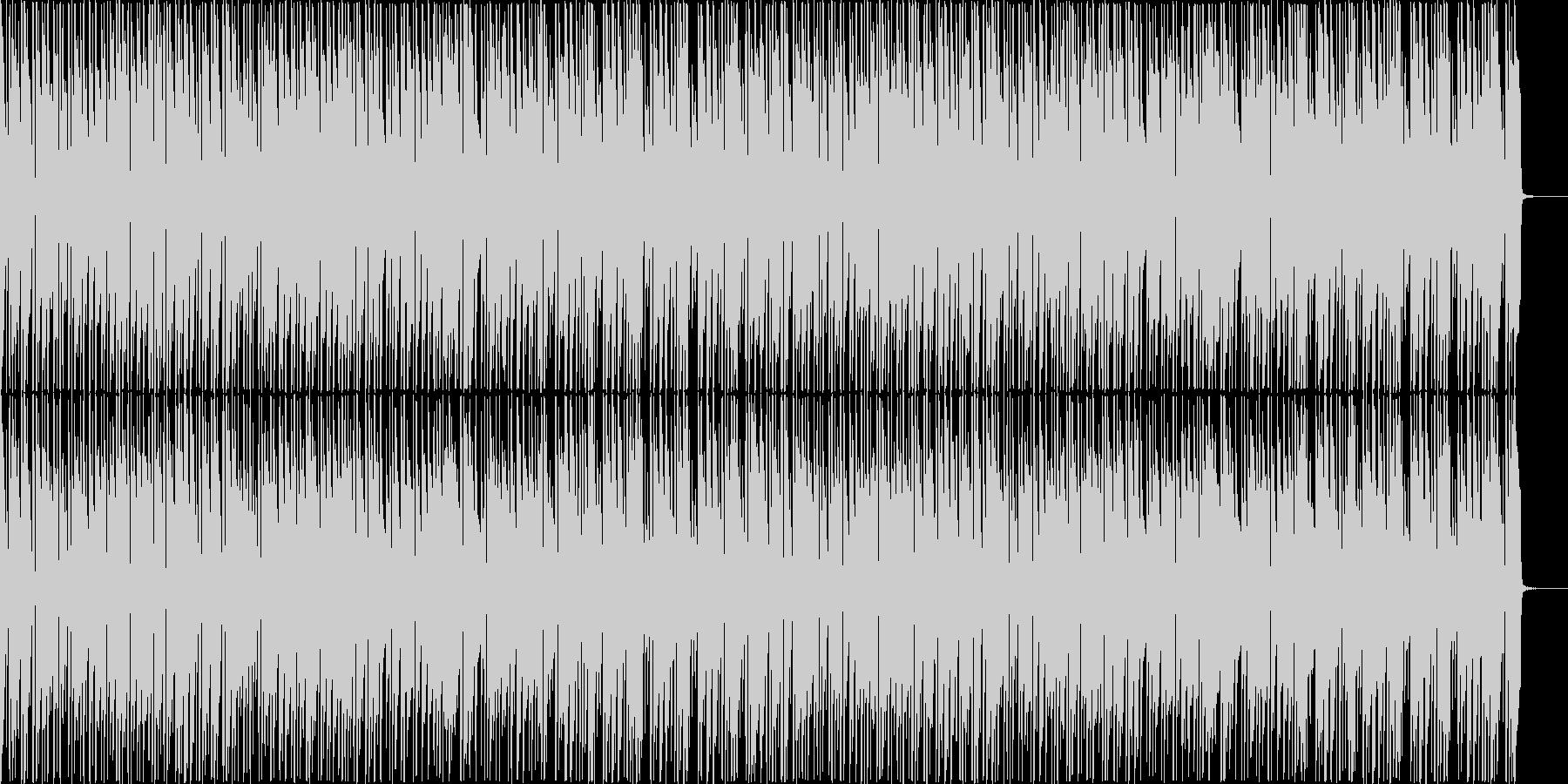 お洒落なボサノバ(メロディ無し)の未再生の波形