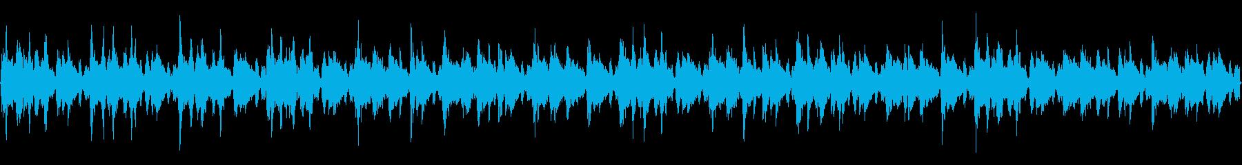 クラブで流すことを想定した曲ですの再生済みの波形