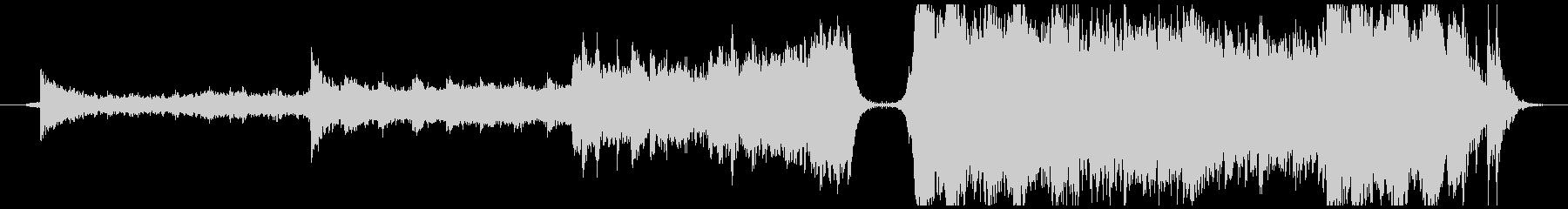 エピック系のバトル曲の未再生の波形