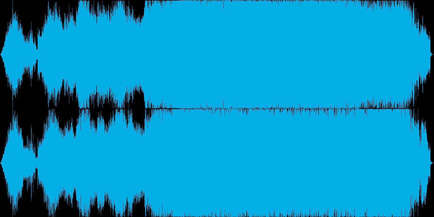 前半スペーシーで中盤から歪んだサウンドにの再生済みの波形
