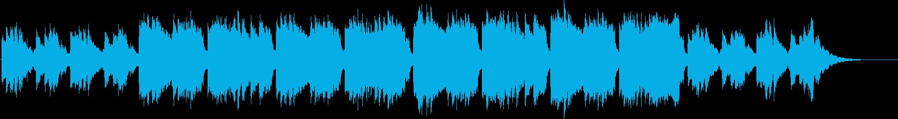 のんびりフルートの再生済みの波形
