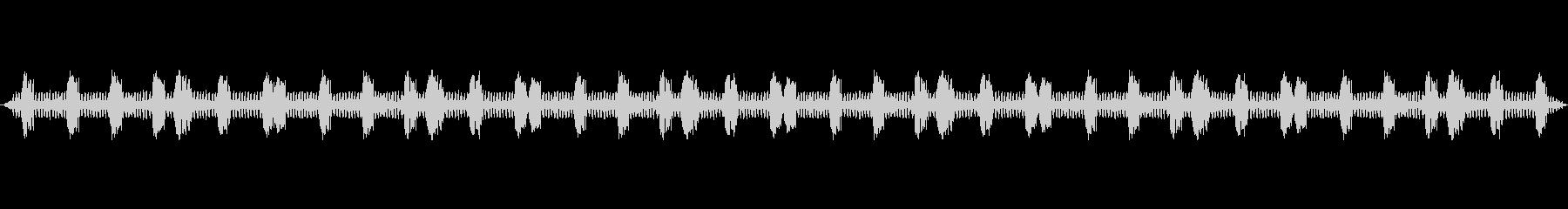 虫の声をバイノーラル録音方式で収音しま…の未再生の波形