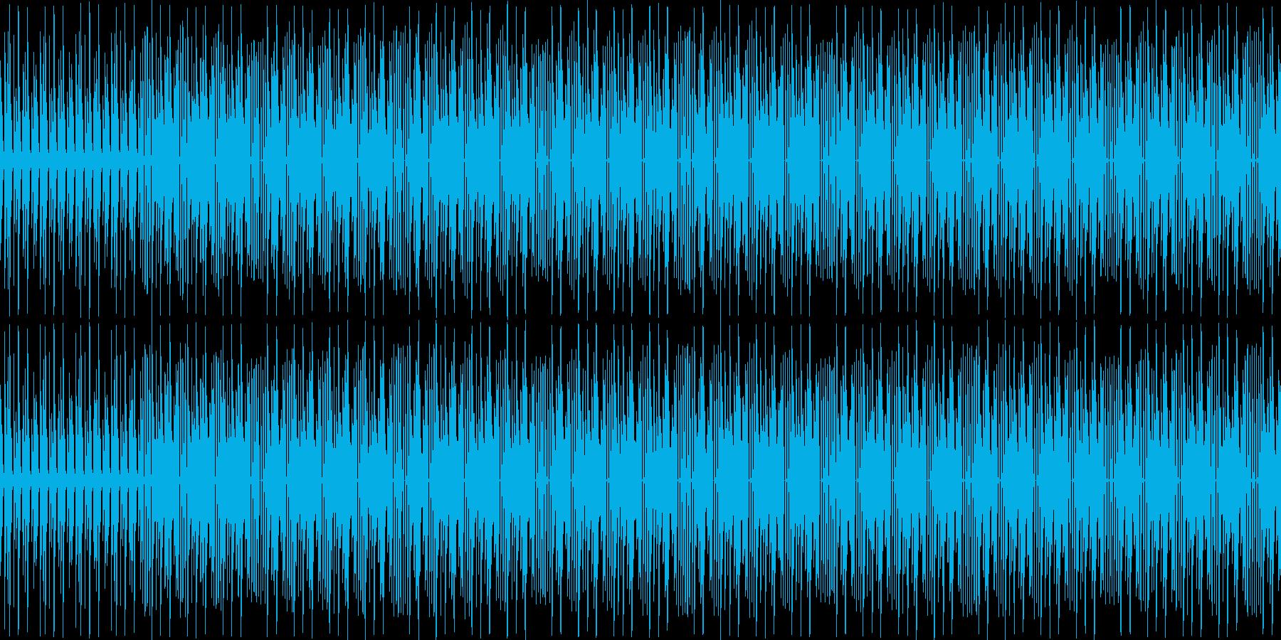 【可愛いテクノポップ/パズル/キラキラ】の再生済みの波形