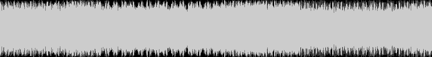 ステージ画面・戦闘ループ・ピアノシンセの未再生の波形