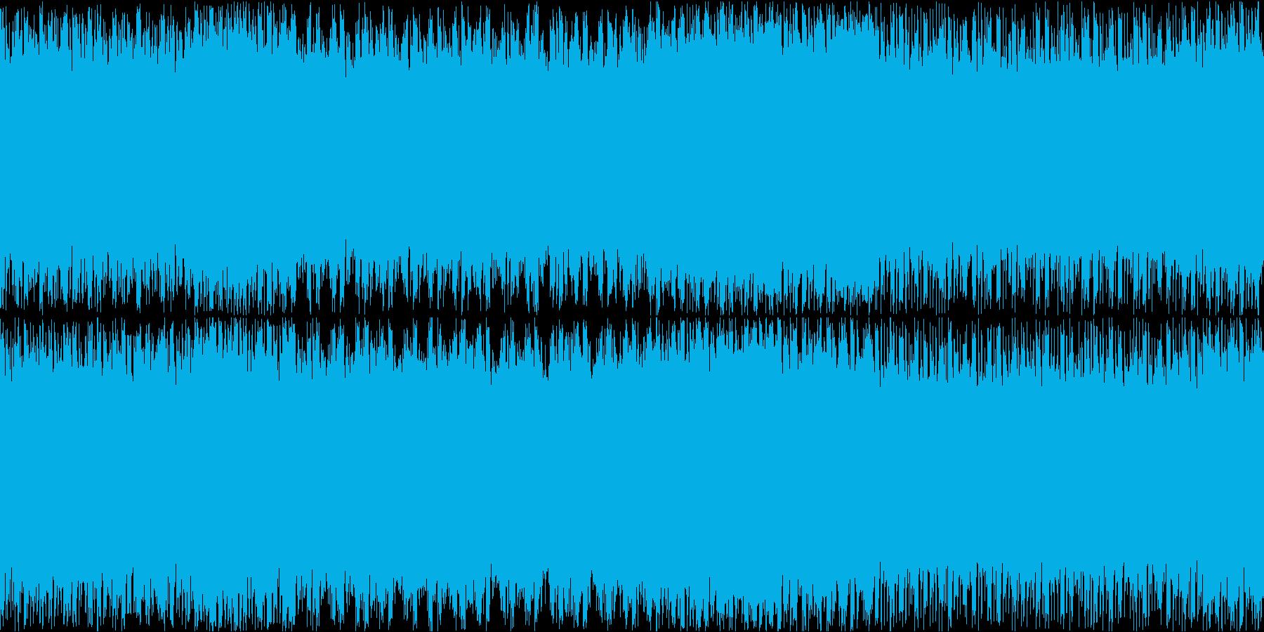 ステージ画面・戦闘ループ・ピアノシンセの再生済みの波形