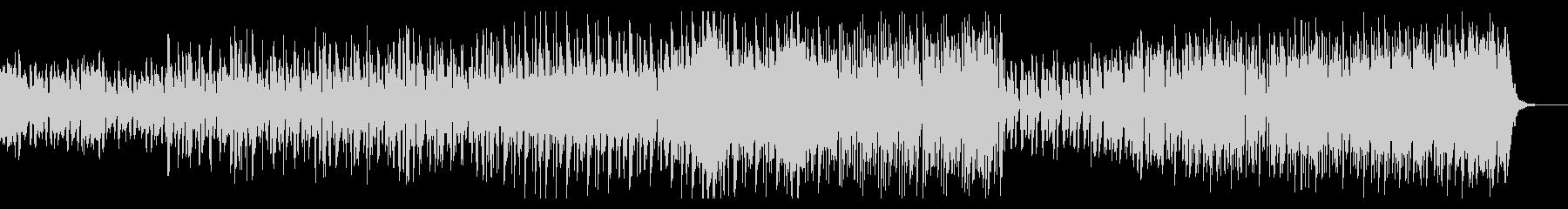 シンプルなアーバンビートの未再生の波形