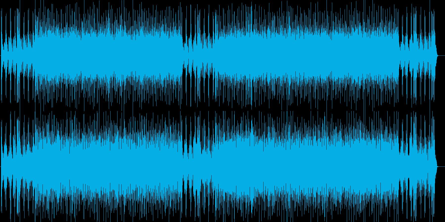 渋谷系アシッドジャズ オルガンファンクの再生済みの波形