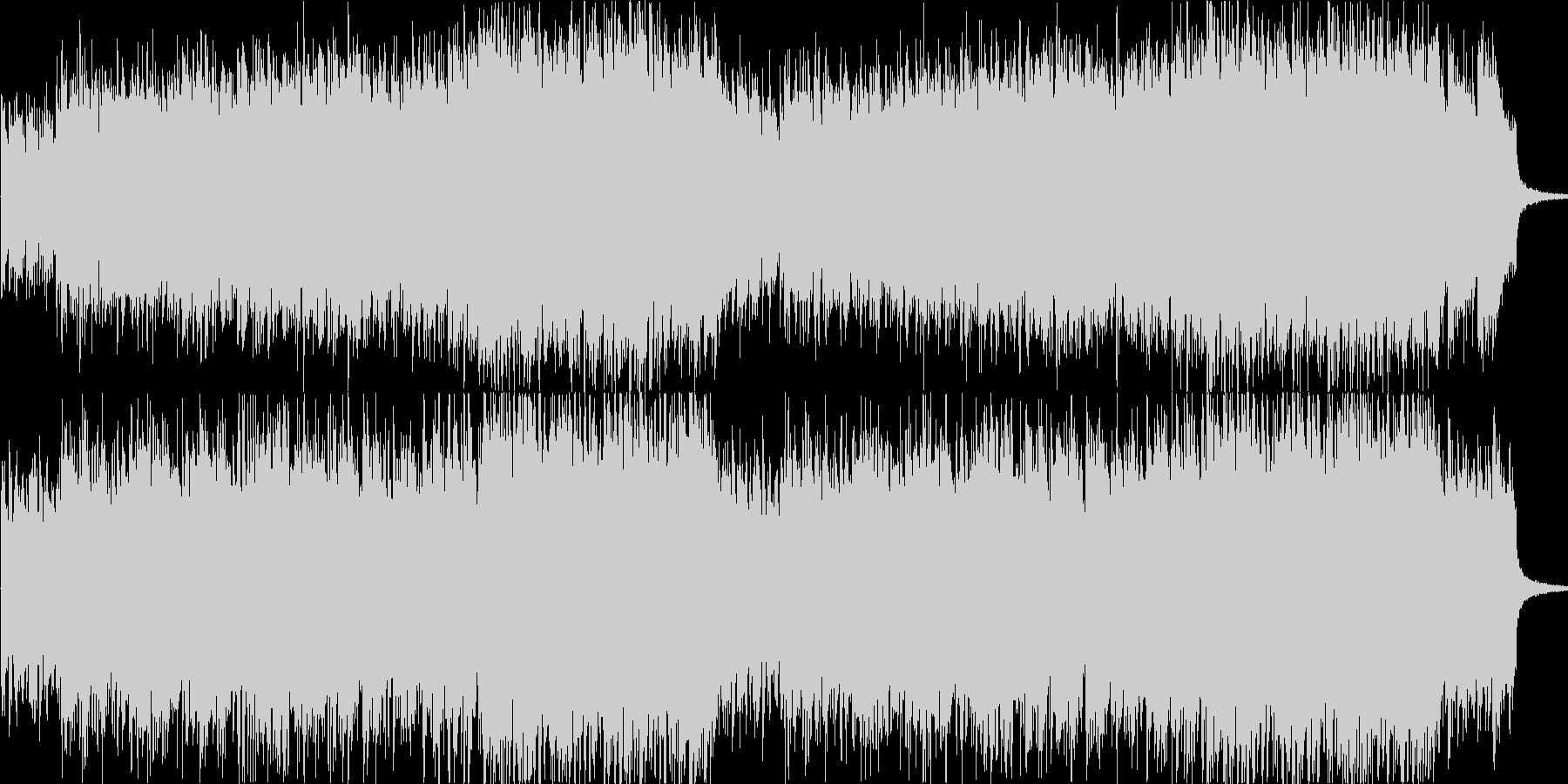 ジプシーの民族音楽風輪舞用オリジナル曲の未再生の波形