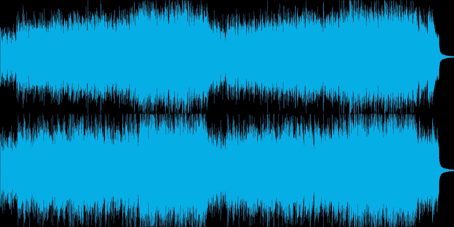 ジプシーの民族音楽風輪舞用オリジナル曲の再生済みの波形