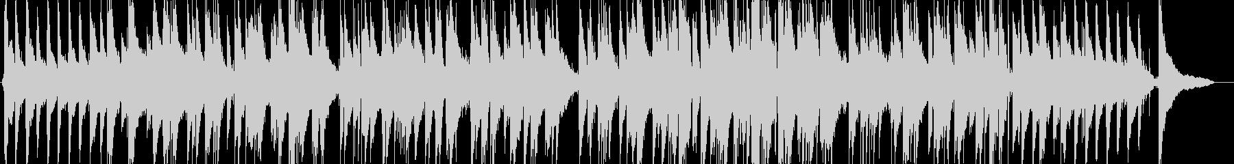 アヴェマリアのジャズピアノの未再生の波形