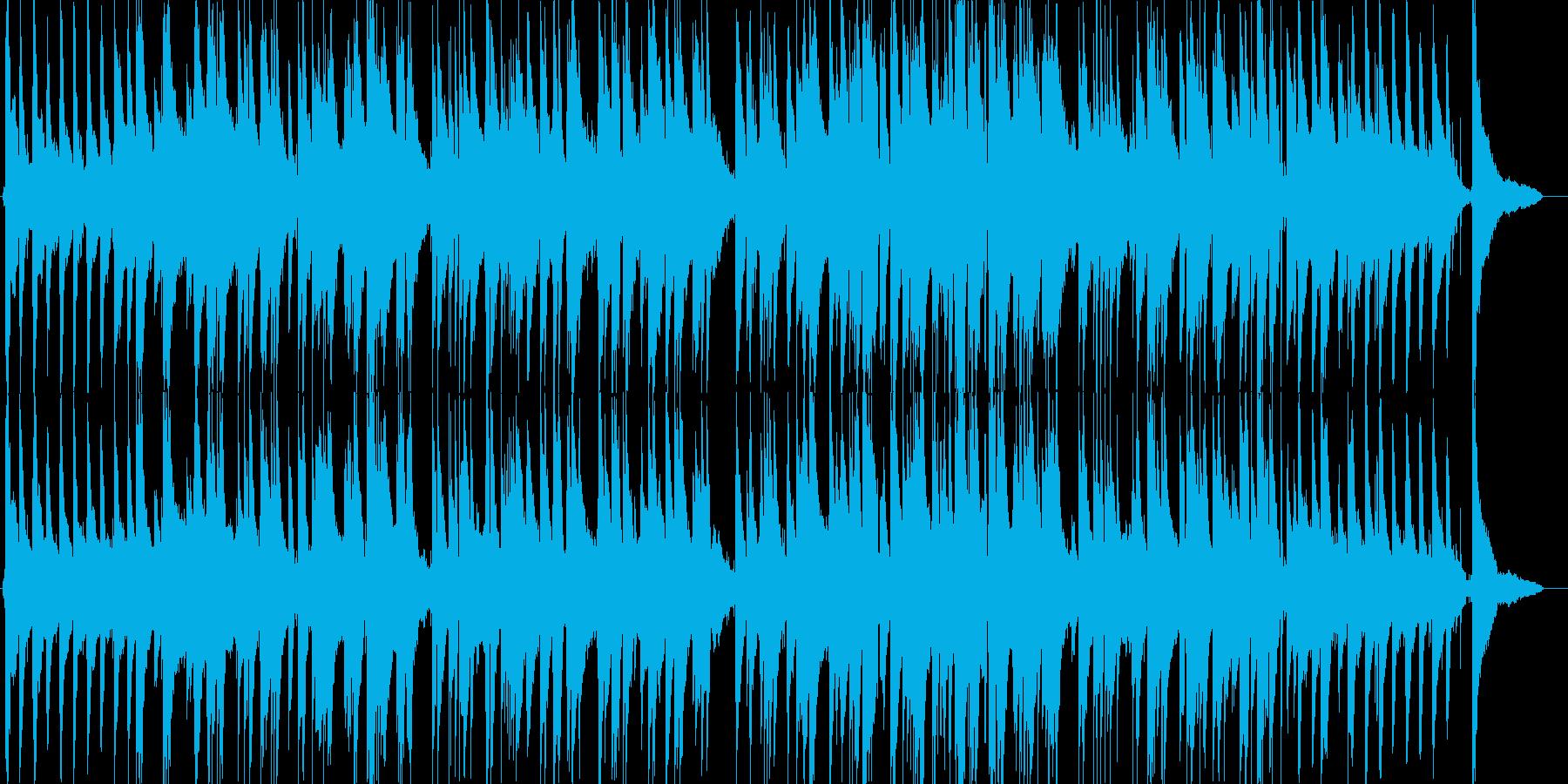 アヴェマリアのジャズピアノの再生済みの波形