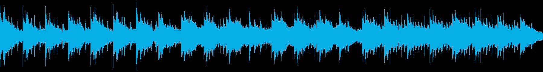 切ない、寂しい感じのピアノBGMの再生済みの波形