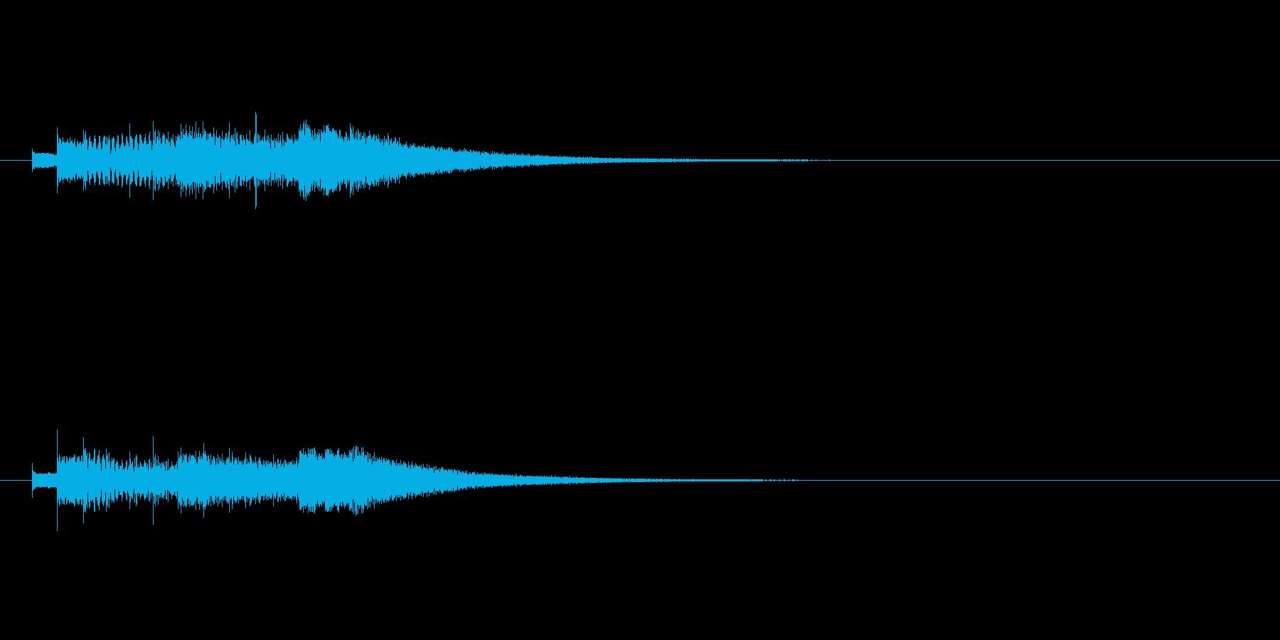 キラキラキラキラ/グロッケン綺麗な上昇音の再生済みの波形
