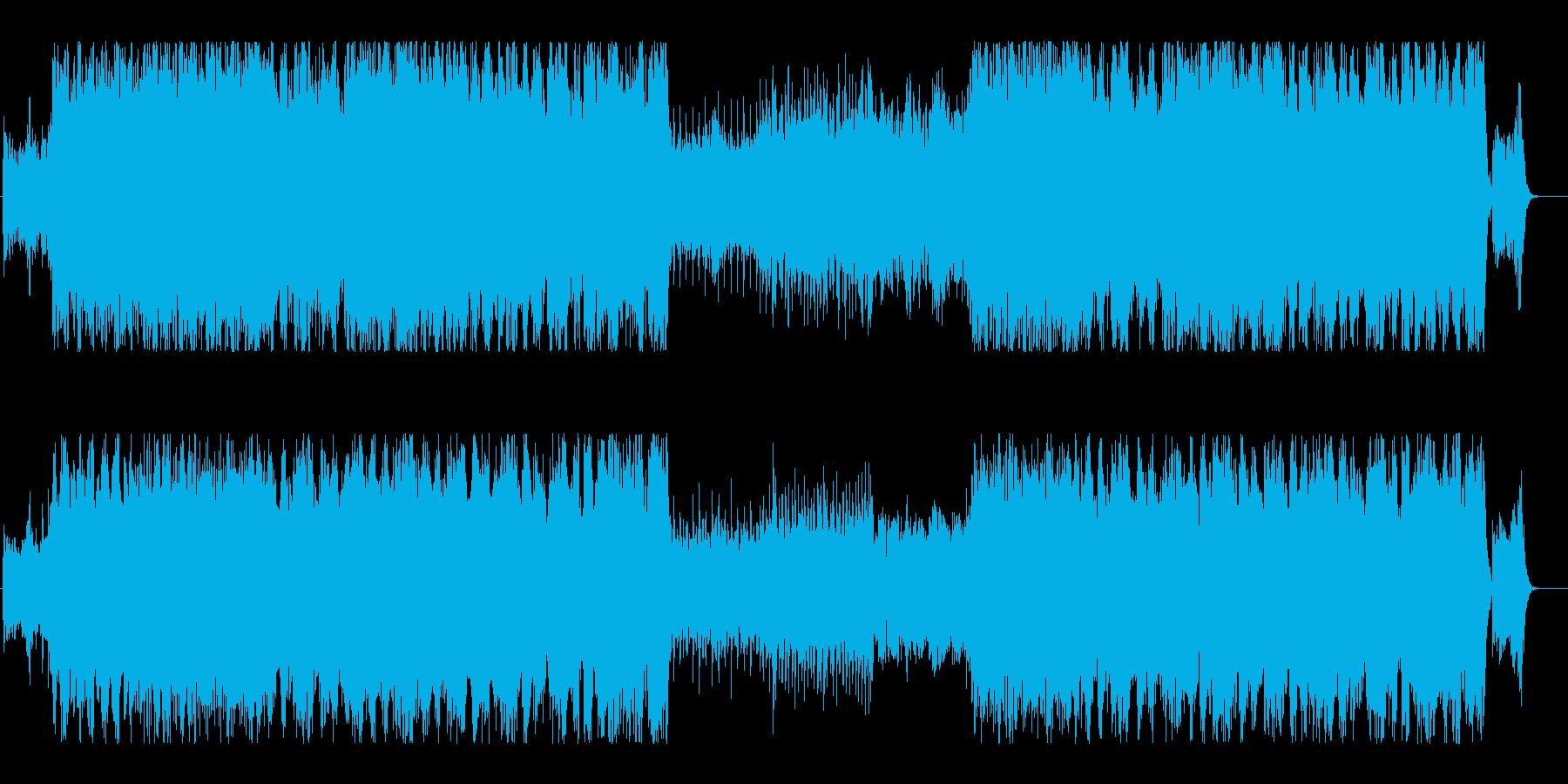 映画音楽風・壮大なケルトオーケストラの再生済みの波形