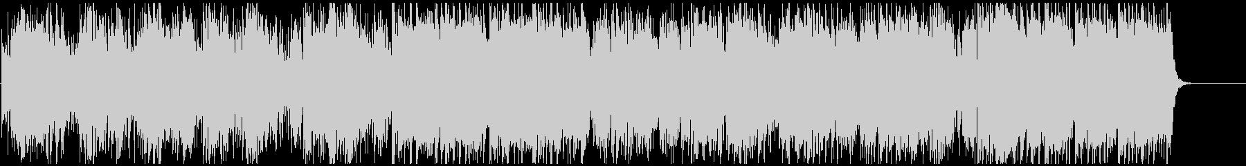 生演奏ソプラノSaxの穏やかフュージョンの未再生の波形