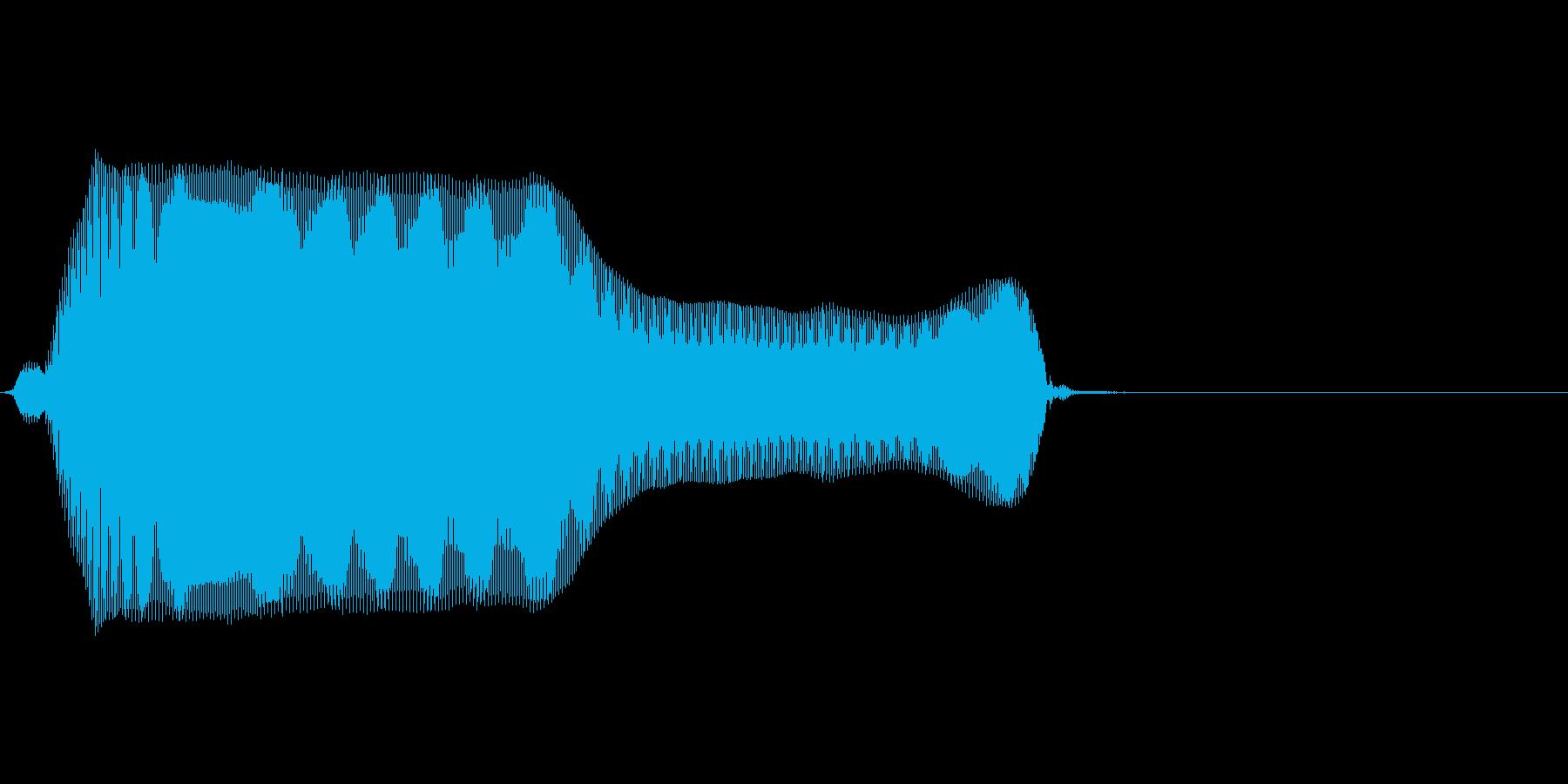 ううっ…の再生済みの波形