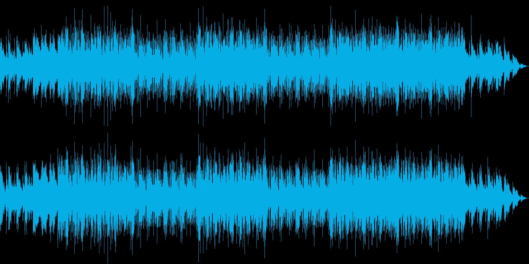 Lo-fiなサウンドでR&Bテイストの曲の再生済みの波形