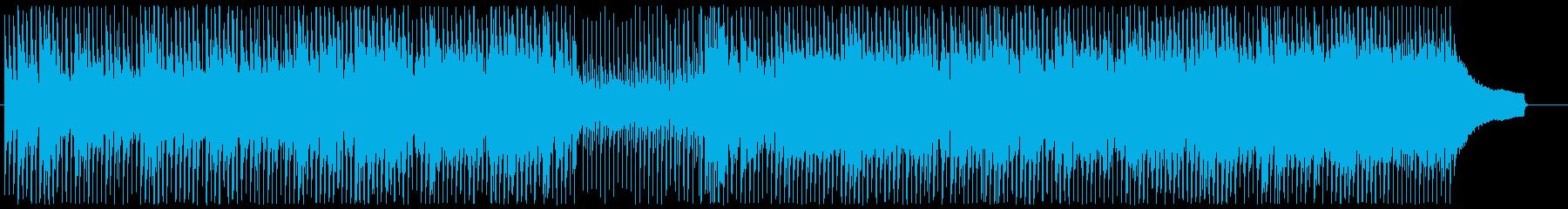 アップテンポなほがらかアコースティックの再生済みの波形