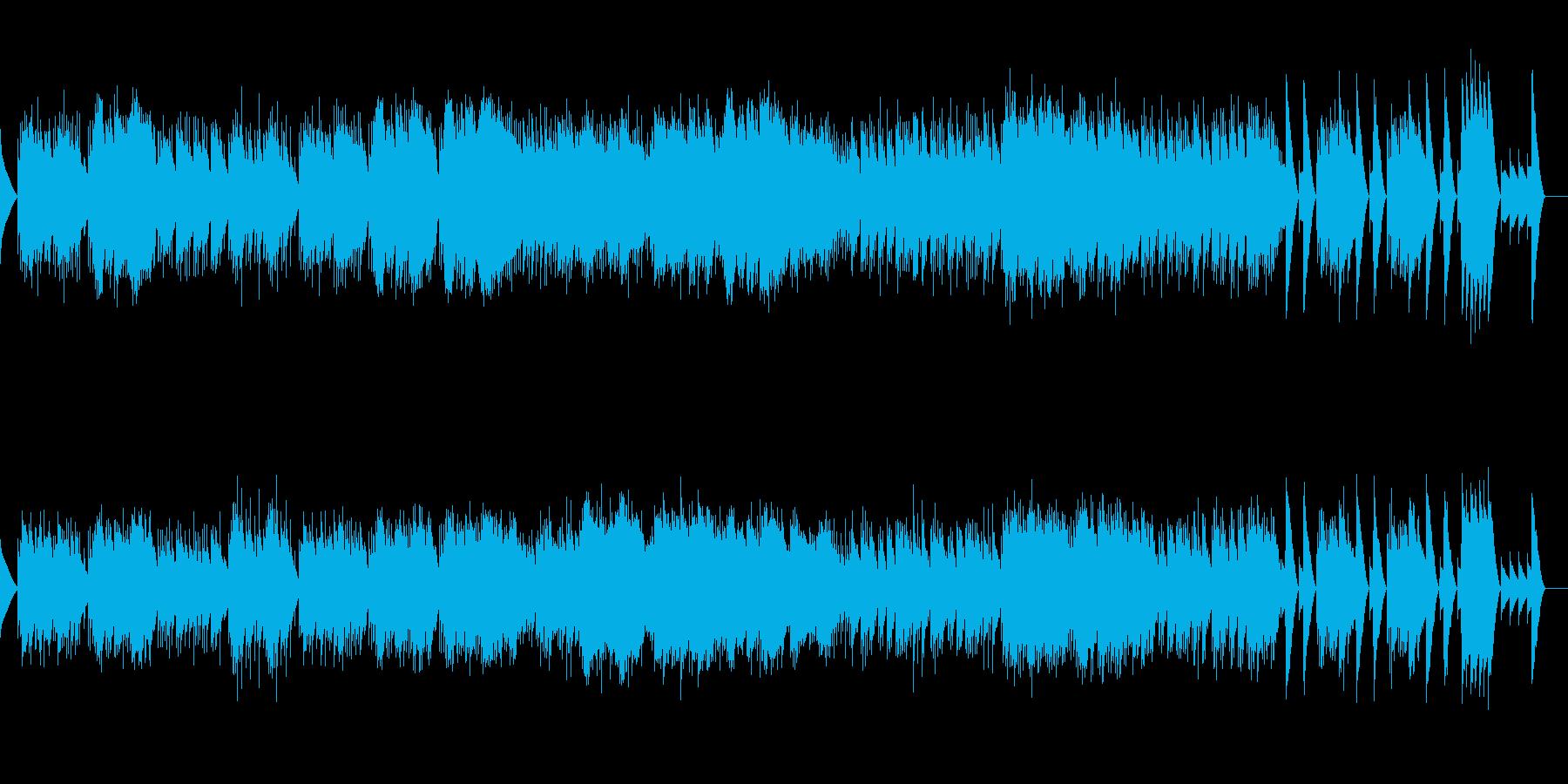 4. 山の魔王の宮殿にて (オルゴール)の再生済みの波形