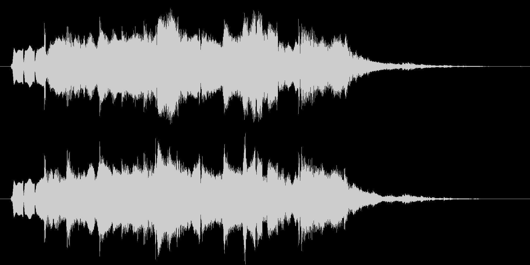 ジングル(素朴2)の未再生の波形