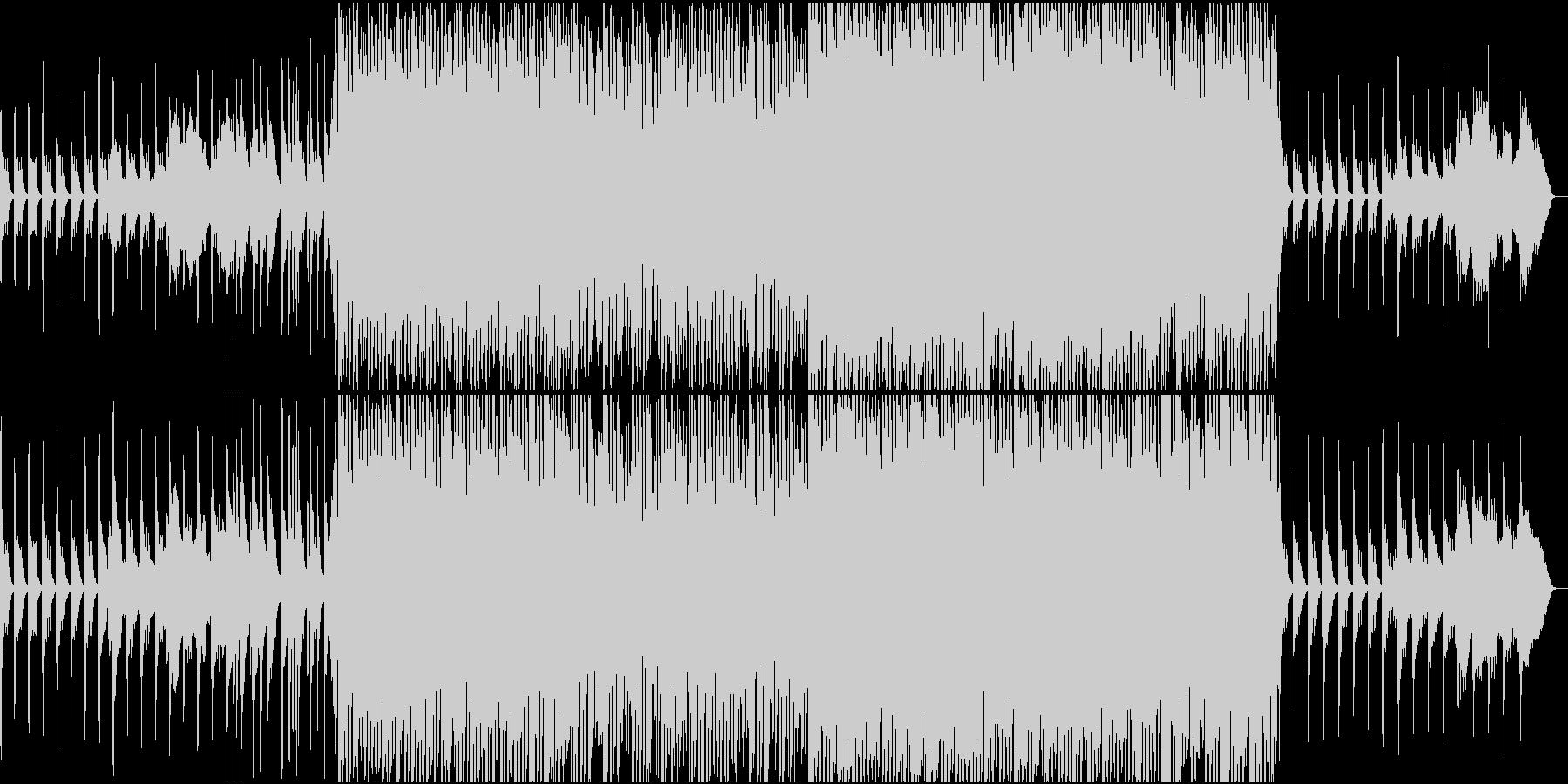 雪/キラキラ/ハウス/ピアノ/きれいの未再生の波形