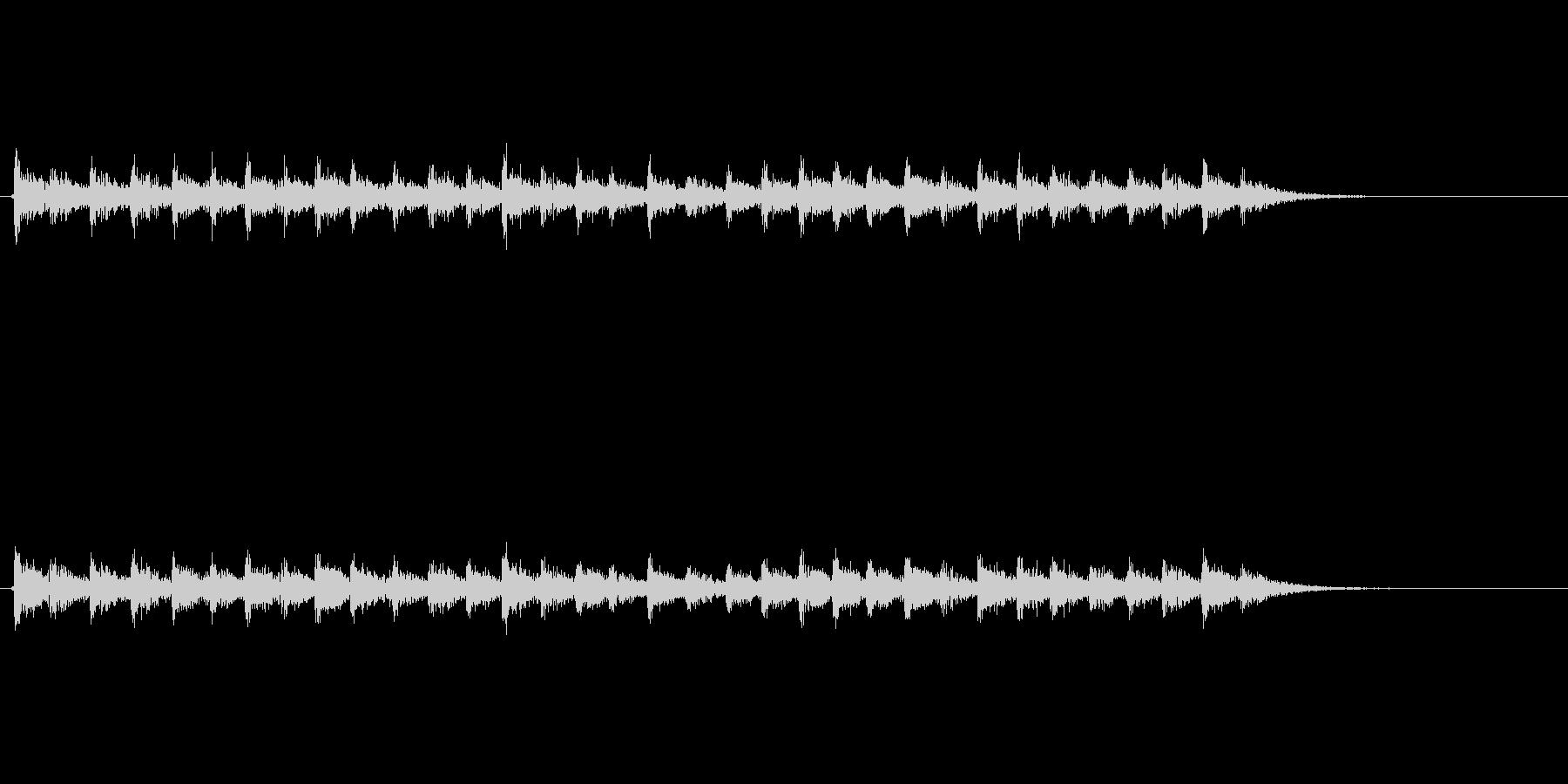 【足音03-5】の未再生の波形